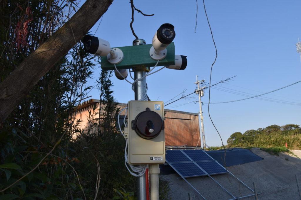 防犯カメラ(計、8台あります)